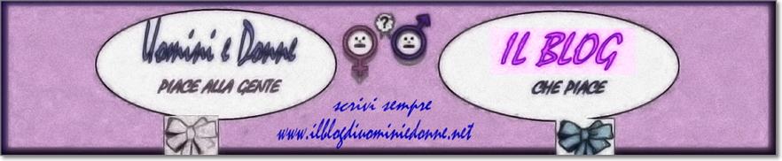 Logo del blog di Uomini e donne